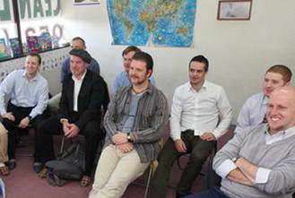 親しみやすい外国人講師陣が、オーシャンの自慢です。 写真